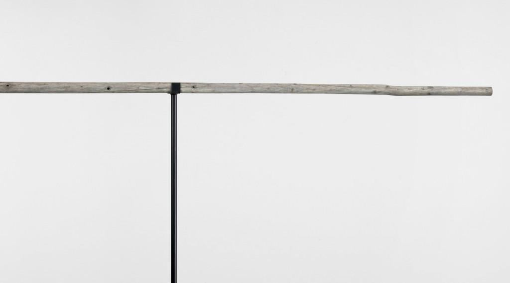 Detail, (Piceaskop II, 2019, Fichtenstange, 544 x ø 4-7 cm) | detail, (Piceaskop II, 2019, young spruce, 544 x ø 4-7 cm)