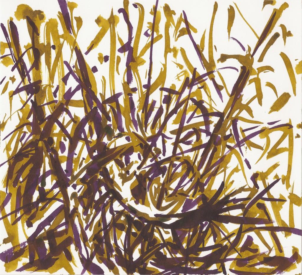 o. T., 2016, Tusche auf Papier, 21 x 23 cm | untitled, 2016, ink on paper, 21 x 23 cm