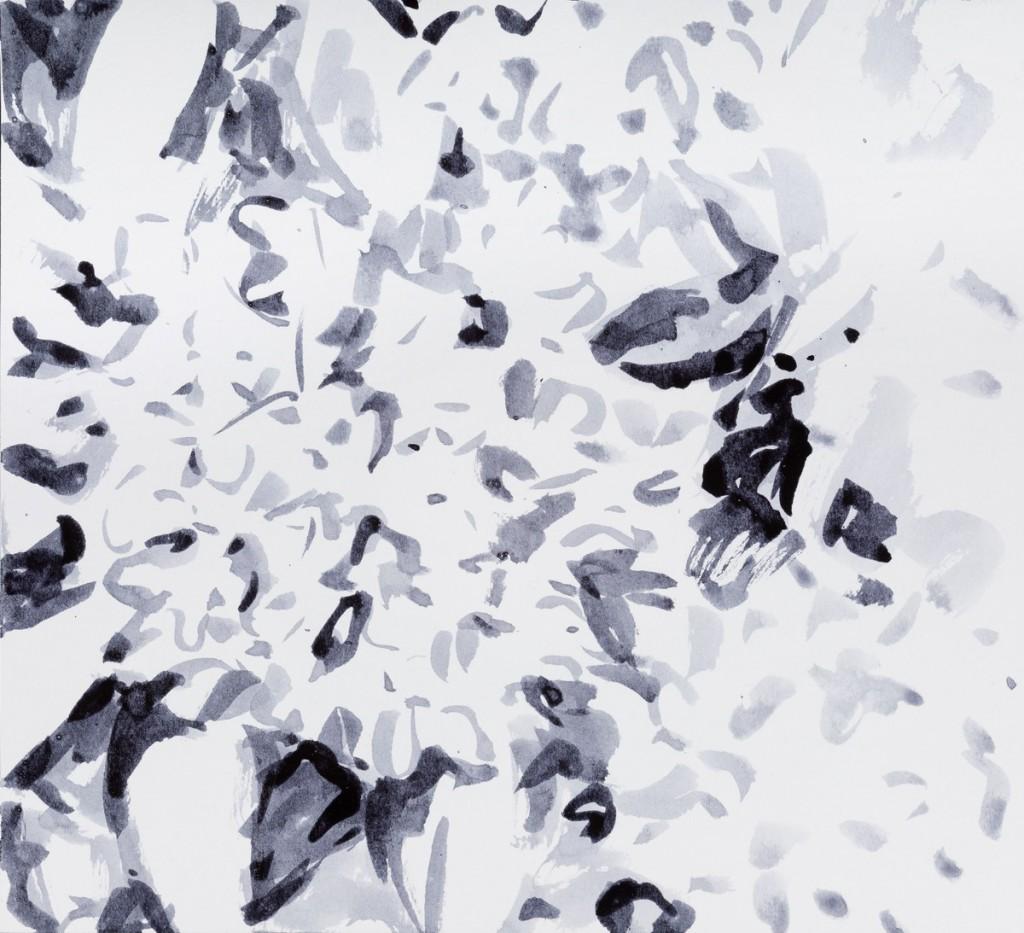 o. T., 2017, Tusche auf Papier, 21 x 23 cm | untitled, 2017, ink on paper, 21 x 23 cm